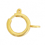 Stainless steel findings clasp 12x14mm Gold