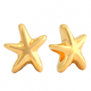 DQ European metal beads seastar Gold (nickel free)