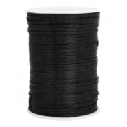 Satin wire 2.5mm Black