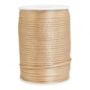 Satin wire 2.5mm Champagne