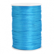 Satin wire 2.5mm Deep Sky Blue