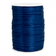 Satin wire 2.5mm Dark Jeans Blue