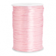 Satin wire 2.5mm Light Rose