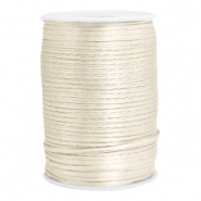 Satin wire 2.5mm Off White