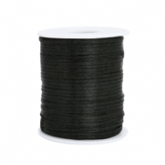 Satin wire 1.5mm Black