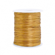 Satin wire 1.5mm Gold