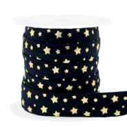 Elastic ribbon stars Black-Gold