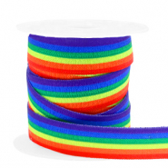 Elastic ribbon rainbow Multicolour