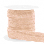 Elastic ribbon Camel Brown