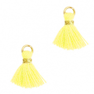 Tassels 1cm Gold-Sunshine Yellow