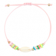 Ready-made Bracelets Cowrie Katsuki Multicolour-Light Pink