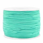Coloured elastic cord 1.2mm Neo Mint Green