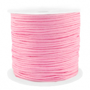 Macramé bead cord 1.5mm benefit package Pink