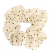 Scrunchies hair tie dots Off White
