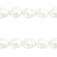 Freshwater pearls rice 11-12mm Natural White