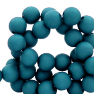 8 mm acrylic beads Classic Blue