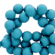8 mm acrylic beads Blue Danube