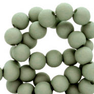 8 mm acrylic beads Iceberg Green