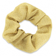 Scrunchie glitter hair tie Gold