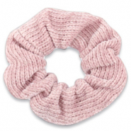 Scrunchie corduroy hair tie Rose Tan