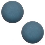12 mm classic Polaris Elements cabochon matt Aegean Blue