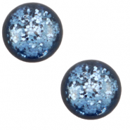 12 mm classic Polaris Elements cabochon Paipolas shiny Aegean Blue