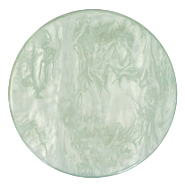 35 mm flat Polaris Elements cabochon Lively Iceberg Green