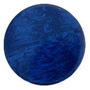 35 mm flat Polaris Elements cabochon Lively True Blue
