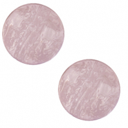 12 mm flat Polaris Elements Cabochon Lively Lavender Frost