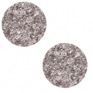 12 mm flat Polaris Elements Cabochon Goldstein Lavender Frost