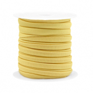 Stitched elastic ribbon Golden Yellow