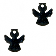 Plexx charms angel shimmery Black