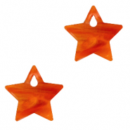 Plexx charms star Warm orange