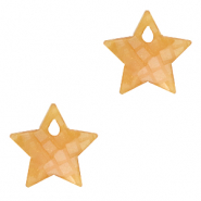 Plexx charms star shimmery Honey Orange