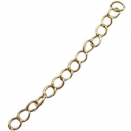 DQ extension chain DQ gold plated