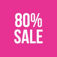 Sale Outlet sale 80%