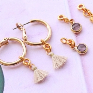 Inspirational Sets MIX AND MATCH! Changeable minimalist earrings