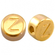 DQ metal letterbead Z Gold (nickel free)