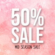 Sale MID SEASON SALE 50%