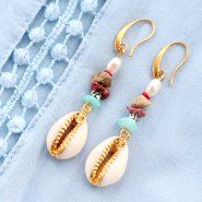 Inspirational Sets Beach time! Jewellery making with cowrie shell beads