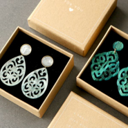 Inspirational Sets Creating fashionable earrings with our new resin pendants