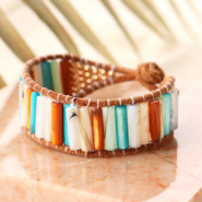 Inspirational Sets This is how you make the most beautiful jewellery with tube shell beads
