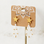 Inspirational Sets Make trendy earrings with the new brass TQ metal earring findings