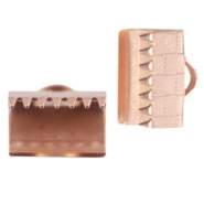 DQ metal laceclip 10mm Rose gold (nickel free)