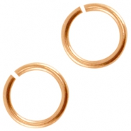 DQ metal jumpring 5.0mm Rose gold (nickel free)