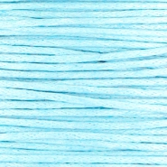 Waxed cord 1.0mm Light blue