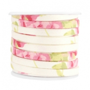 Trendy flat cord 5mm Beige rose