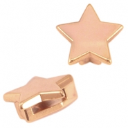 DQ metal Cuoio/Love Crystal slider star Rose gold