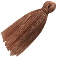 Large tassels Brown