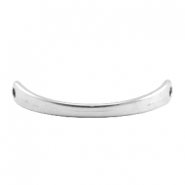 DQ metal bracelet connector Antique silver (nickel free)